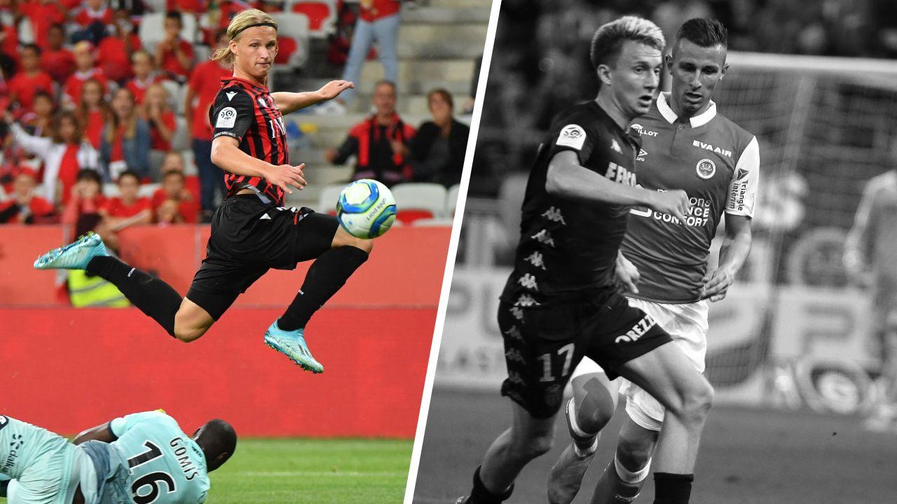 Football - Ligue 1 - Tops/Flops de la soirée de Ligue 1 : Dolberg a montré la voie, Monaco inoffensif