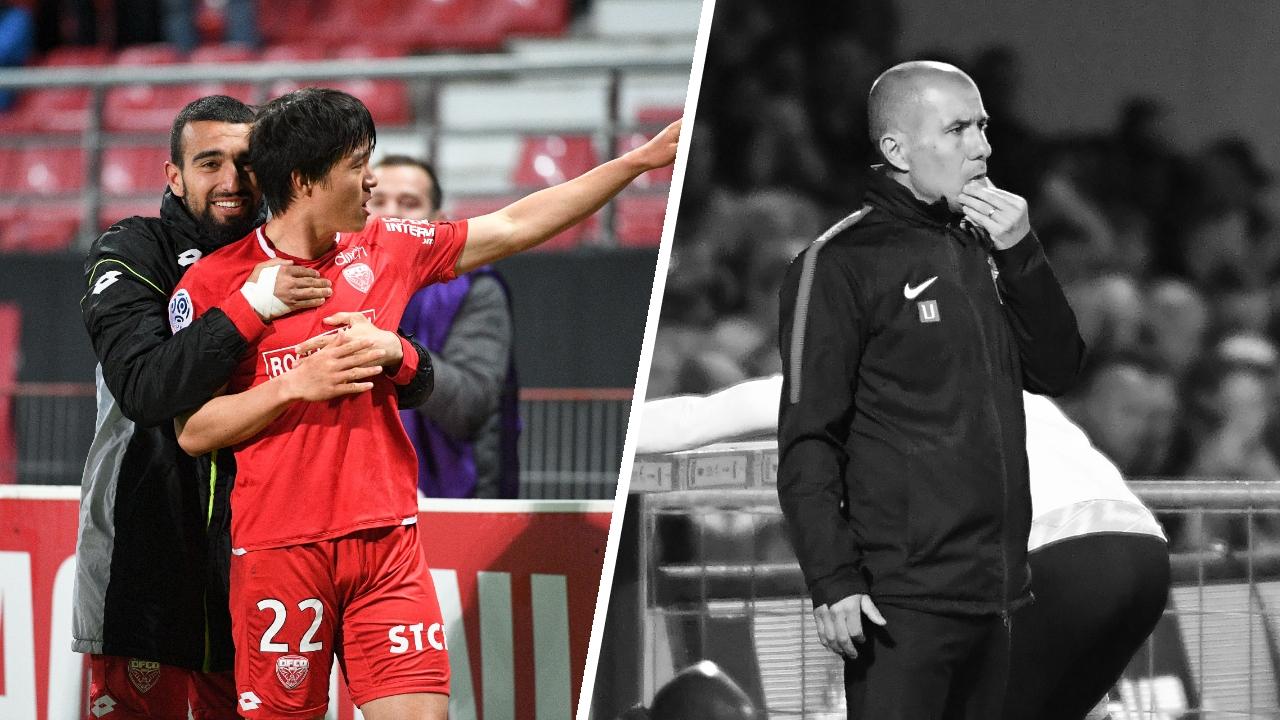 Football - Ligue 1 - Tops/Flops de la soirée de Ligue 1 : Kwon délivre Dijon, la fébrilité monégasque
