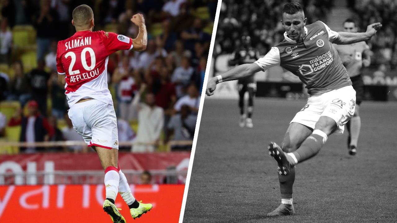 Football - Ligue 1 - Tops/Flops de la soirée de Ligue 1 : Slimani s'occupe de tout, retour sur terre pour Reims