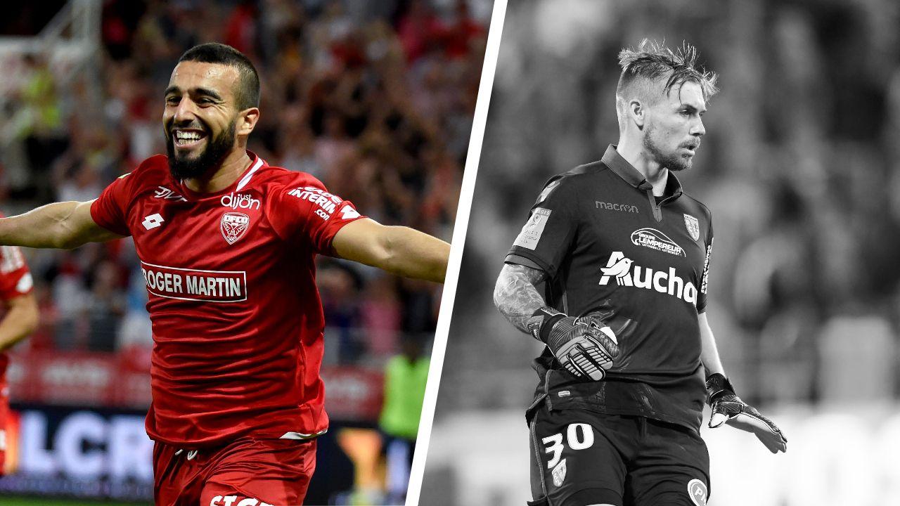 Football - Ligue 1 - Tops/Flops Dijon-Lens : Sliti en héros, Vachoux en zéro