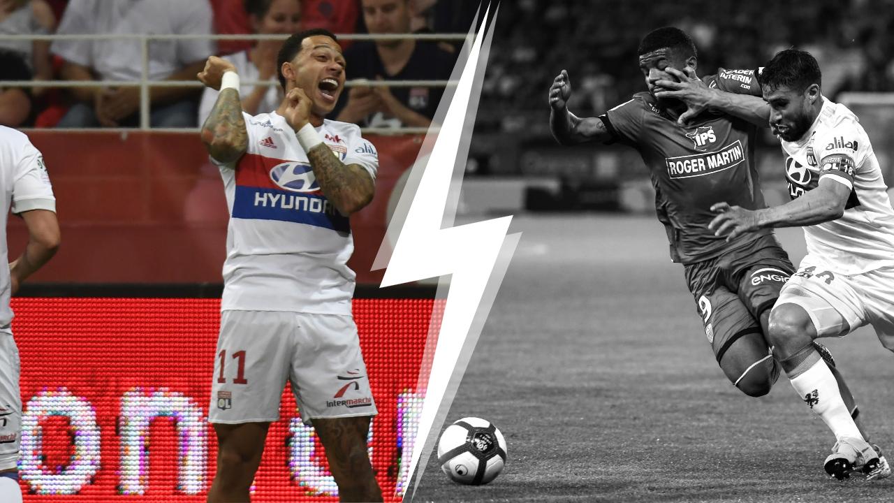 Football - Ligue 1 - Tops/Flops Dijon-Lyon : Depay encore en feu, la frustration de Dijon