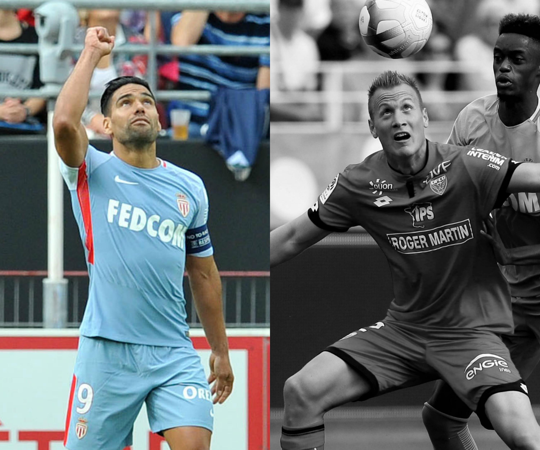 Football - Ligue 1 - Tops/Flops Dijon-Monaco : Falcao voit triple, les Bourguignons sans défense