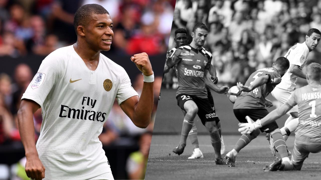 Football - Ligue 1 - Tops/Flops Guingamp-PSG : Mbappé a tout changé, Guingamp s'est liquéfié