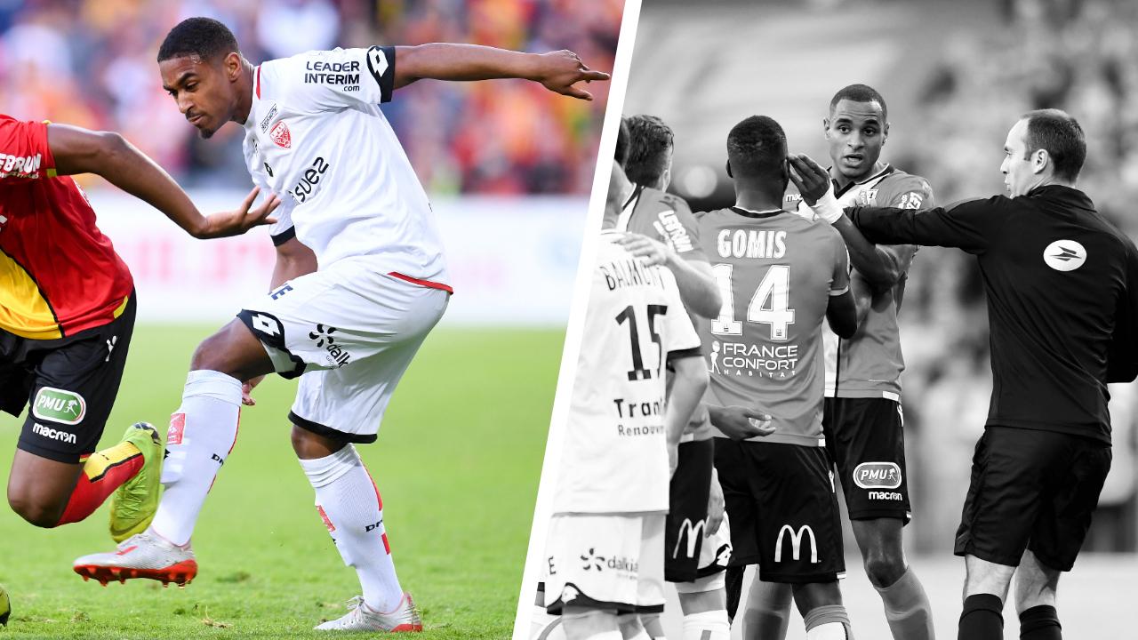 Football - Ligue 1 - Tops/flops Lens-Dijon : Saïd déchaîné, Fortes dépassé