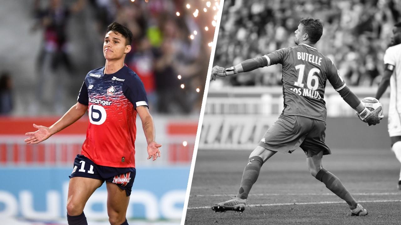 Football - Ligue 1 - Tops/Flops Lille-Angers : Araujo saisit sa chance, Butelle encore à la faute