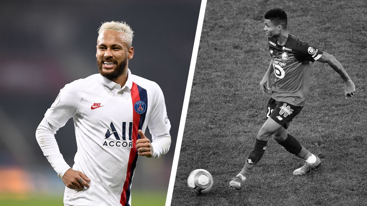 Infos Sports : Football - </b>Ligue 1 - Tops/flops Lille-Paris SG  : </b> Le patron Neymar, Reinildo en retard
