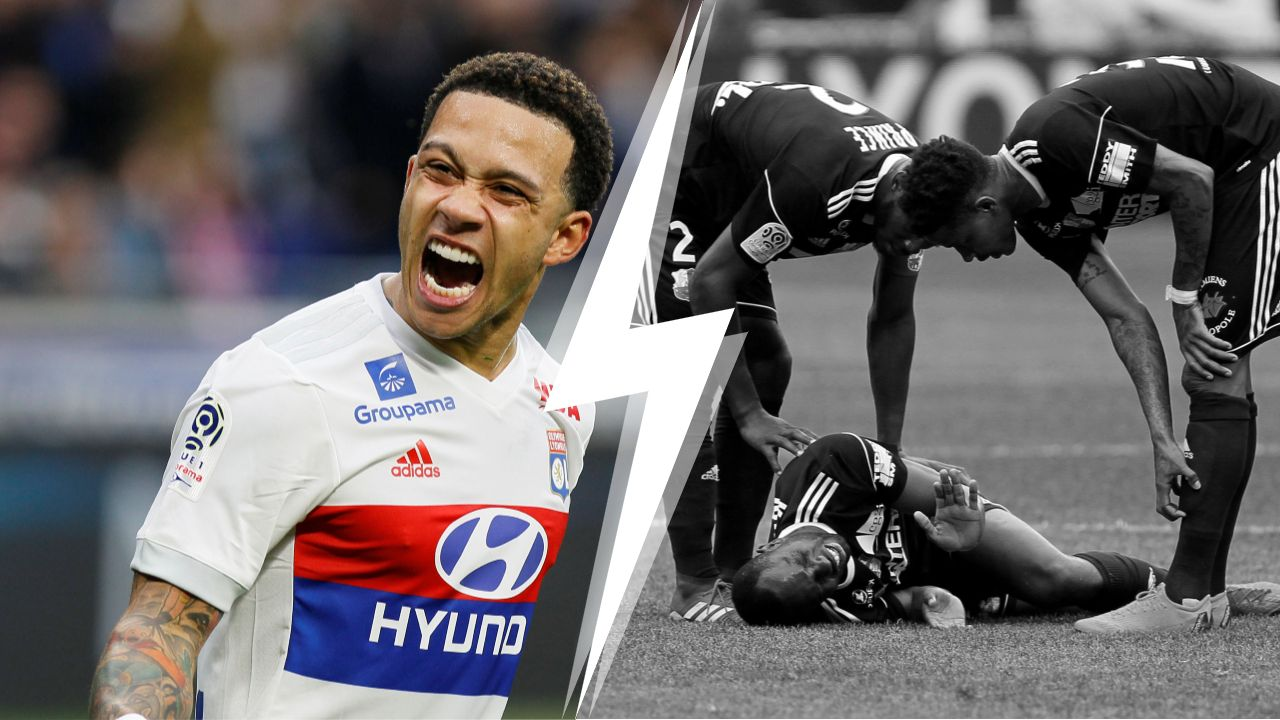 Football - Ligue 1 - Tops/Flops Lyon-Amiens : L'incontournable Depay, des Picards inoffensifs