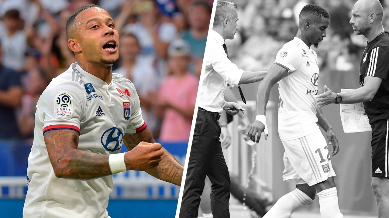 Football - Ligue 1 - Tops/Flops Lyon-Bordeaux : Depay a surnagé, Thiago Mendes a plombé l'OL