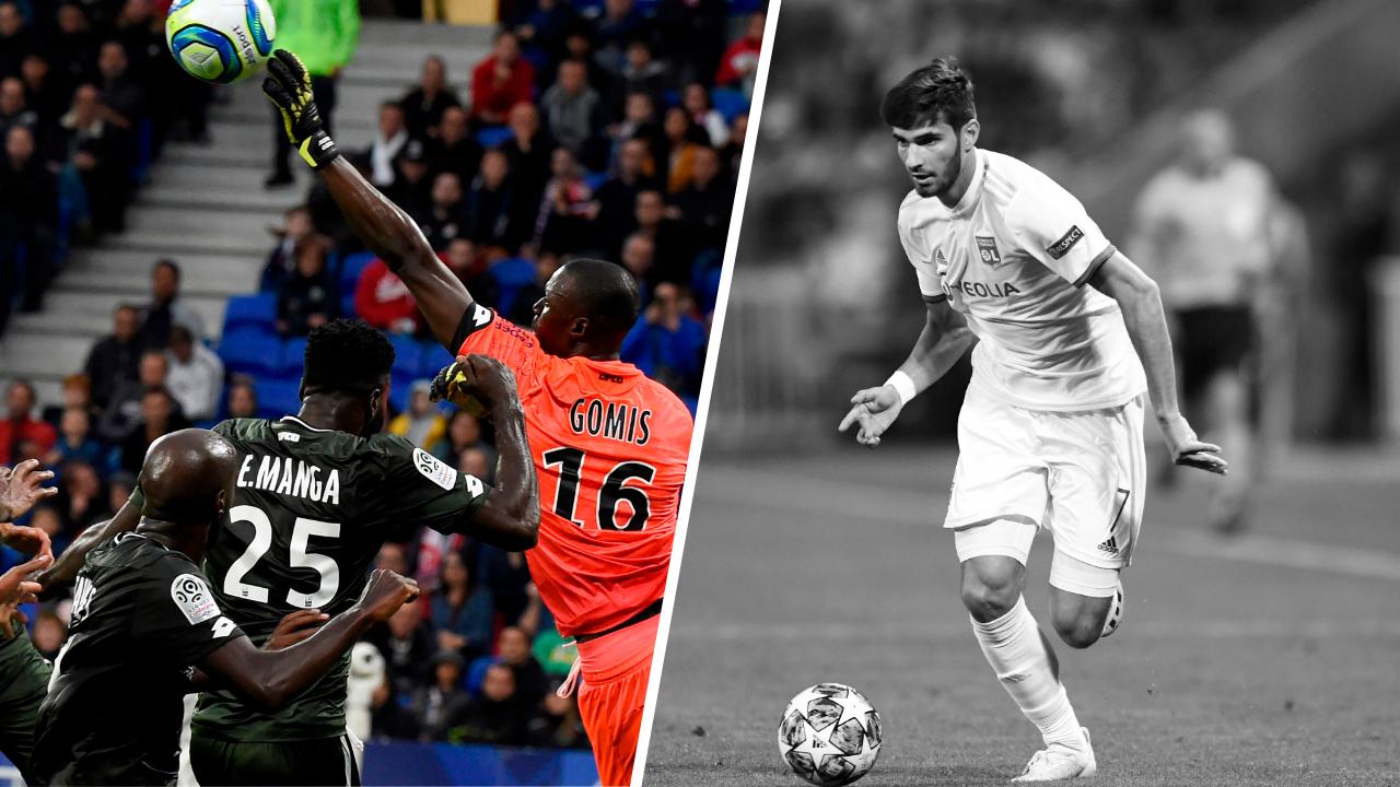 Football - Ligue 1 - Tops/flops Lyon-Dijon : Le show Gomis, Terrier hors sujet