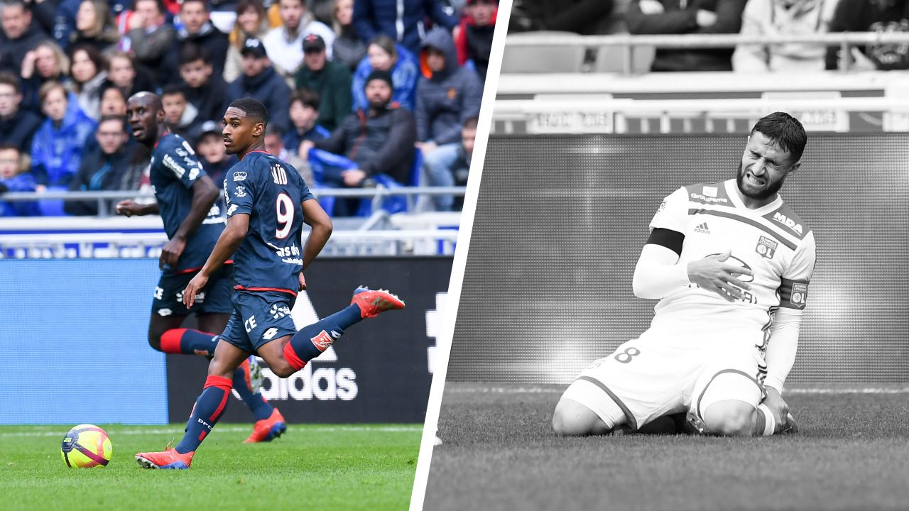 Football - Ligue 1 - Tops/flops Lyon-Dijon : Saïd bourreau de l'OL, Fekir n'y arrive plus