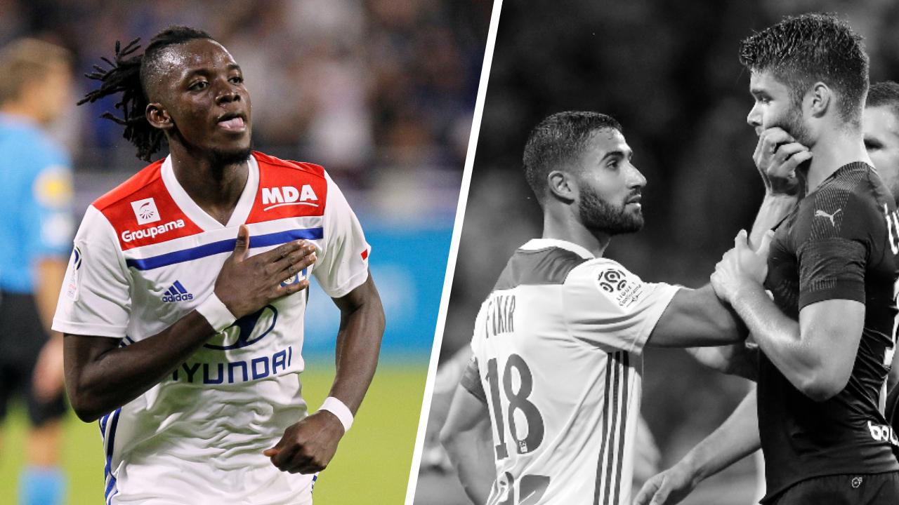 Football - Ligue 1 - Tops/Flops Lyon-Marseille : Traoré a fait le show, Caleta-Car a craqué