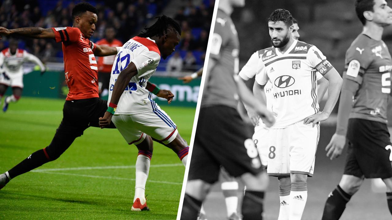 Football - Ligue 1 - Tops/Flops Lyon-Rennes : Mexer impérial, l'OL sans mordant