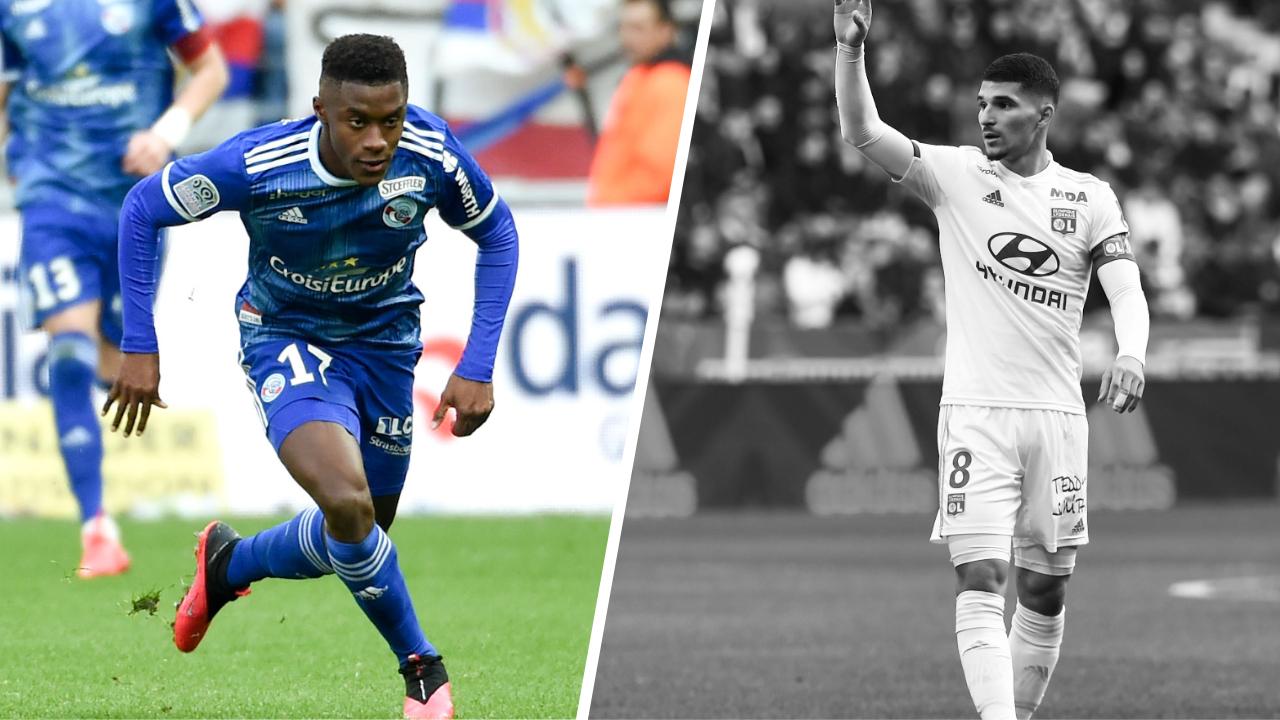 Football - Ligue 1 - Tops/Flops Lyon-Strasbourg : Bellegarde a rayonné, Aouar a déçu
