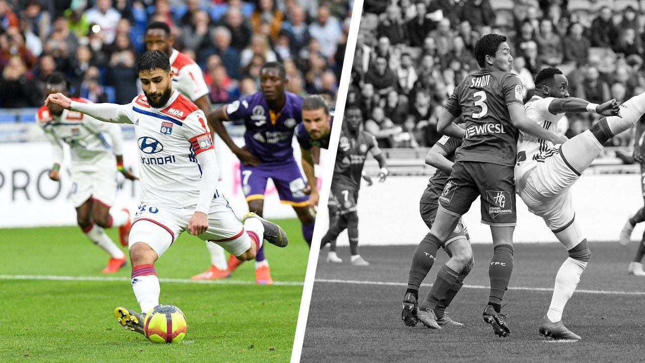Football - Ligue 1 - Tops/Flops Lyon-Toulouse : retour gagnant de Fekir, match sans pour Shoji