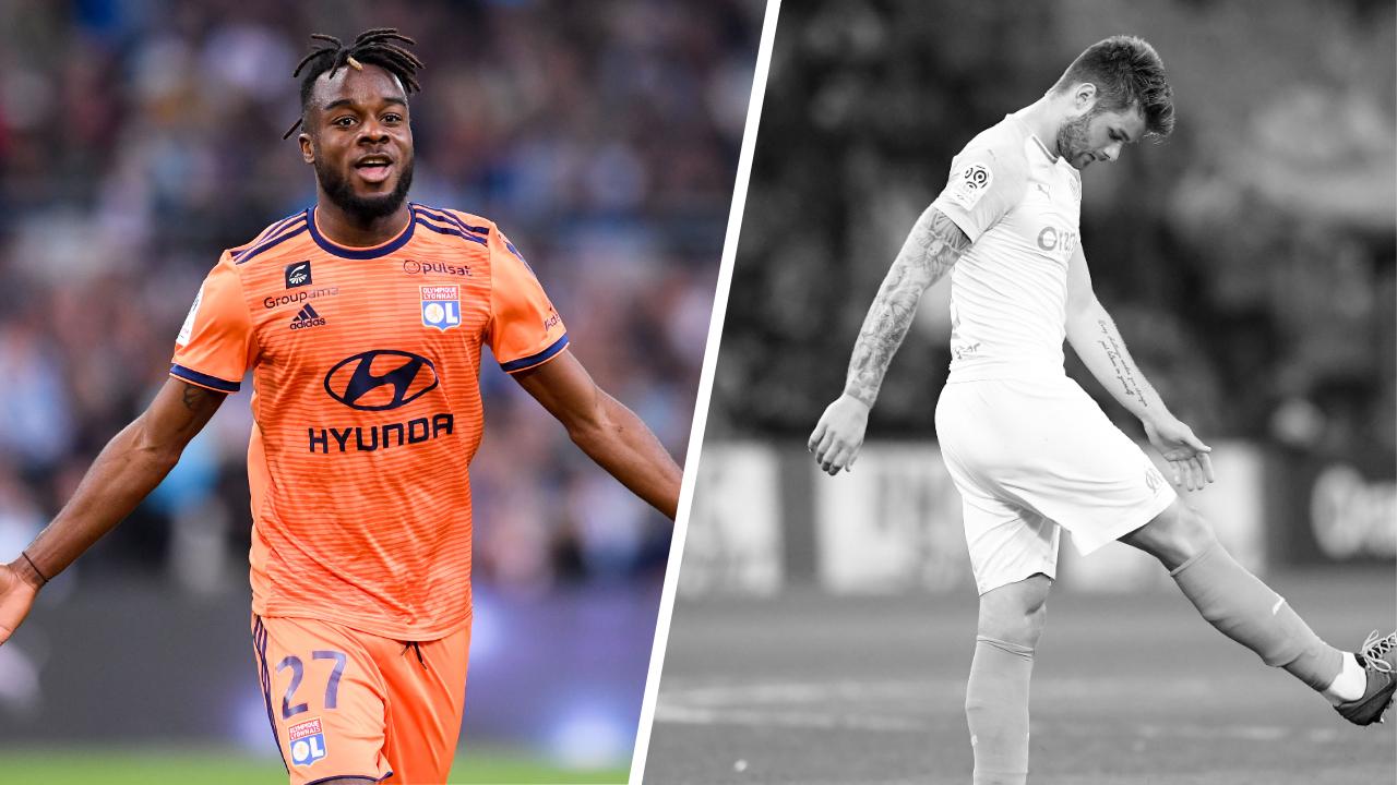 Football - Ligue 1 - Tops/Flops Marseille-Lyon : Cornet voit double, l'OM trouble