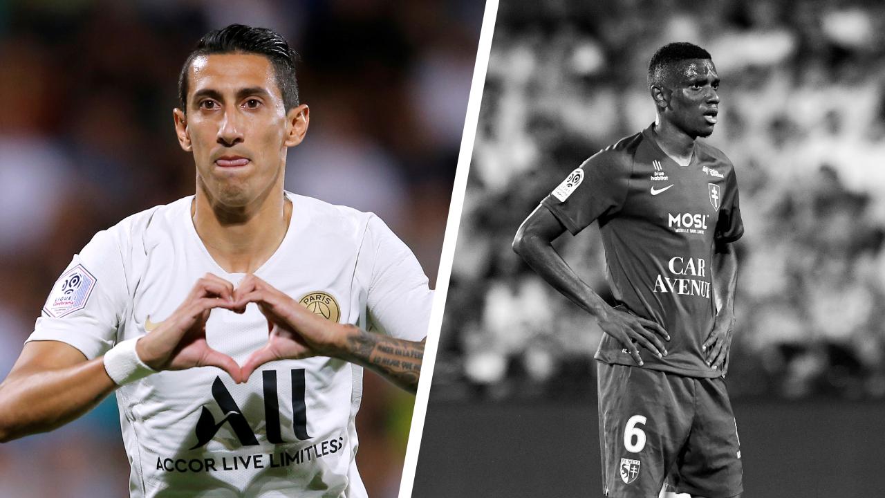 Football - Ligue 1 - Tops/flops Metz-Paris SG : Di Maria indispensable, Fofana coupable