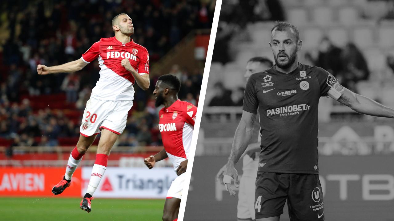 Football - Ligue 1 - Tops/Flops Monaco-Montpellier : Slimani et Ben Yedder en grande forme, la défense héraultaise aux abois