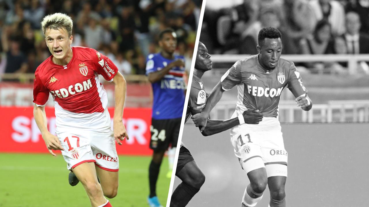 Football - Ligue 1 - Tops/flops Monaco-Nice : le show Golovin, le calvaire de Sarr