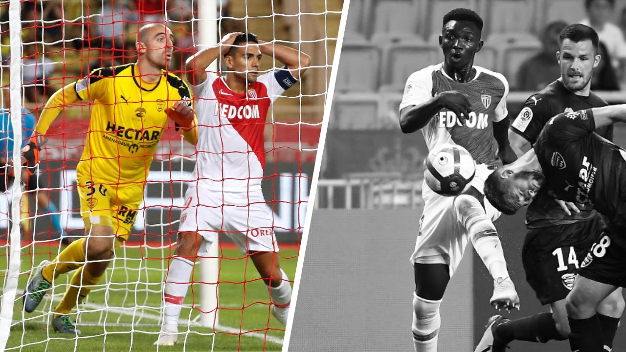 Football - Ligue 1 - Tops/Flops Monaco-Nîmes : Bernardoni héroïque, Traoré invisible