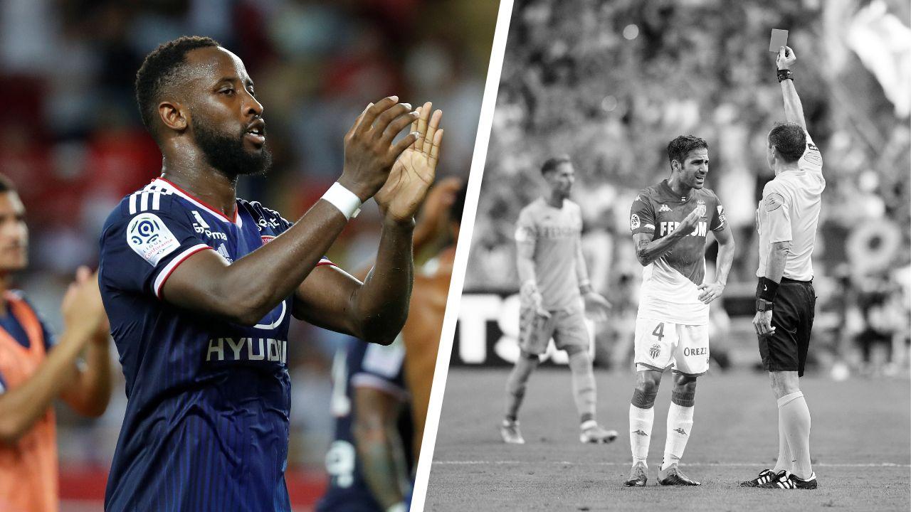 Football - Ligue 1 - Tops/Flops Monaco-Lyon : Dembélé incisif, Fabregas voit rouge