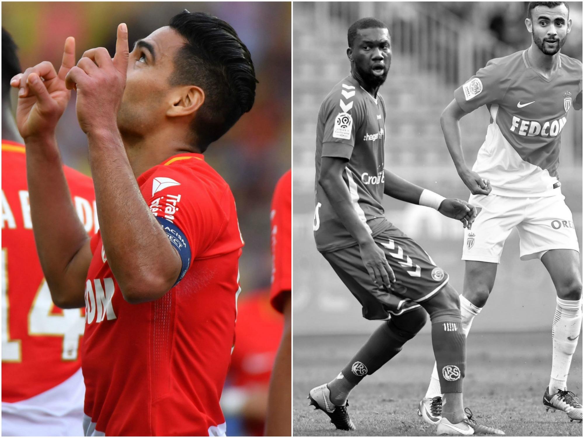 Football - Ligue 1 - Tops/Flops Monaco-Strasbourg : Falcao affole les compteurs, Aholou maladroit