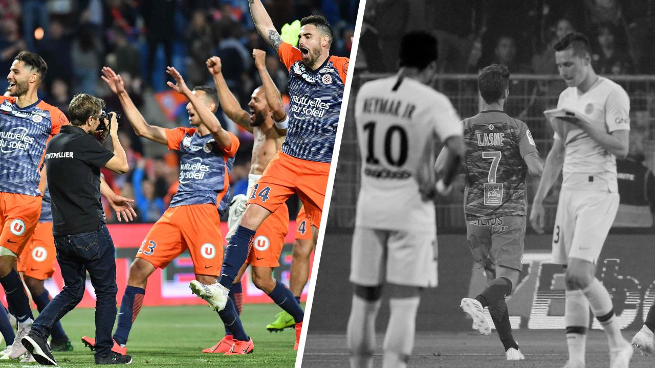 Football - Ligue 1 - Tops/Flops Montpellier-PSG : Montpellier a du caractère, Paris la tête à l'envers