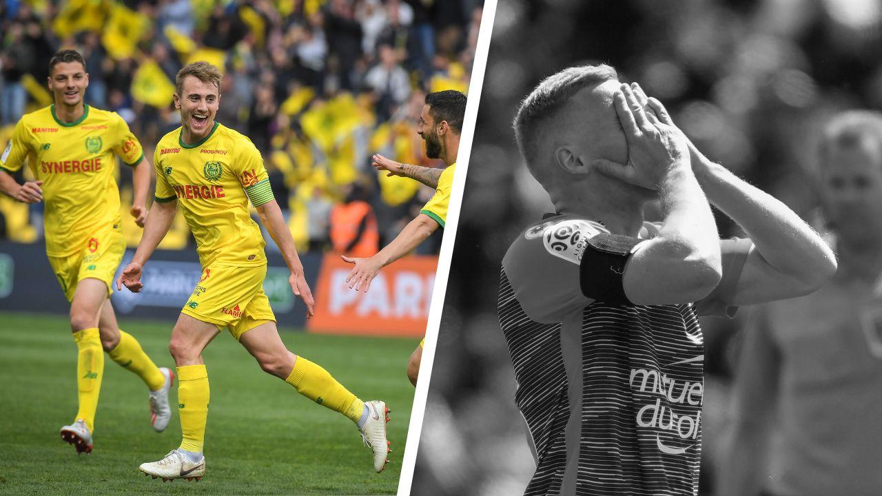 Football - Ligue 1 - Tops/Flops multiplex de Ligue 1 : Nantes enterre Dijon, Montpellier rate le coche