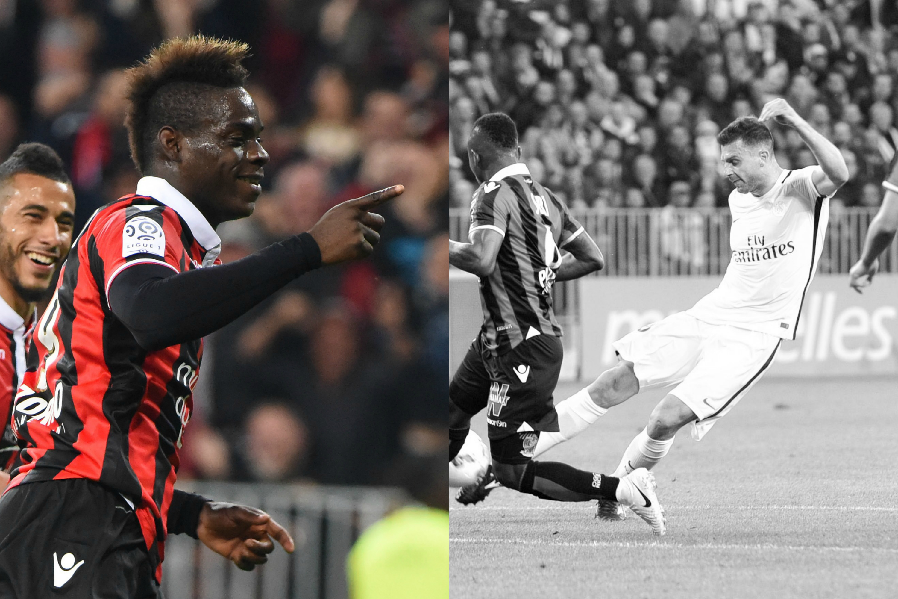 Football - Ligue 1 - Tops/Flops Nice-PSG : Balotelli en patron, Paris a pété les plombs