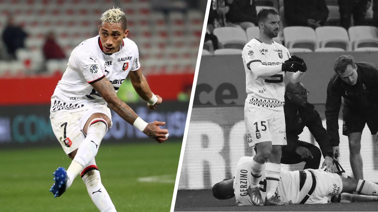 Football - Ligue 1 - Tops/Flops Nice-Rennes : Virevoltant Raphinha, Rennes SOS défense