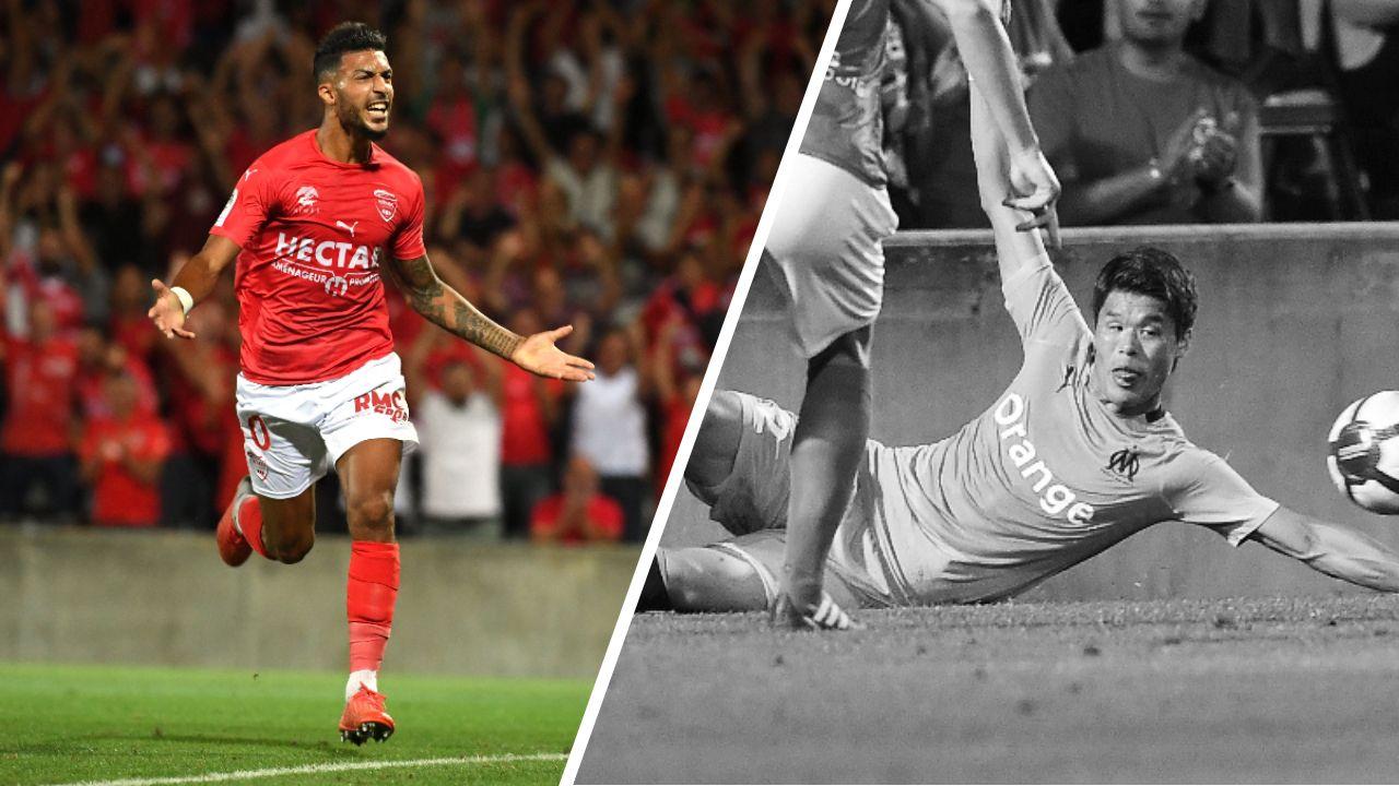 Football - Ligue 1 - Tops/Flops Nîmes-Marseille : Bouanga inarrêtable, Sakaï coupable