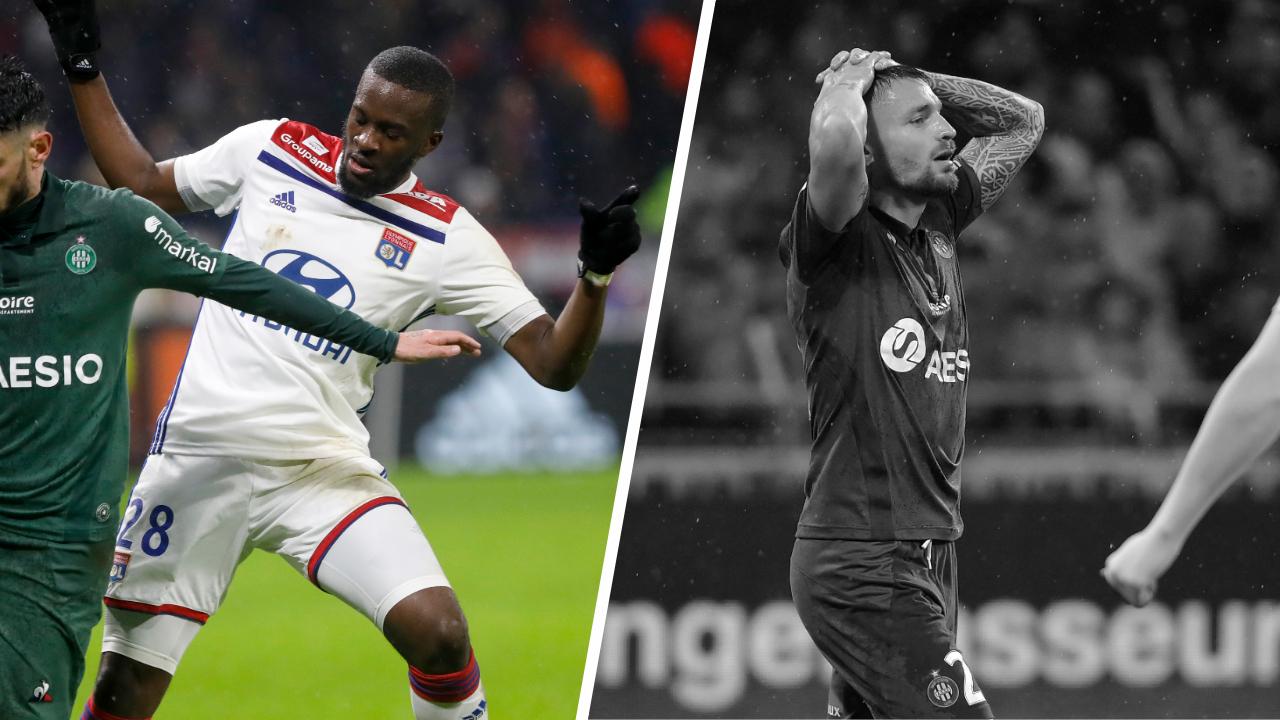 Football - Ligue 1 - Tops/Flops OL-ASSE : Ndombele omniprésent, les Verts sur courant alternatif