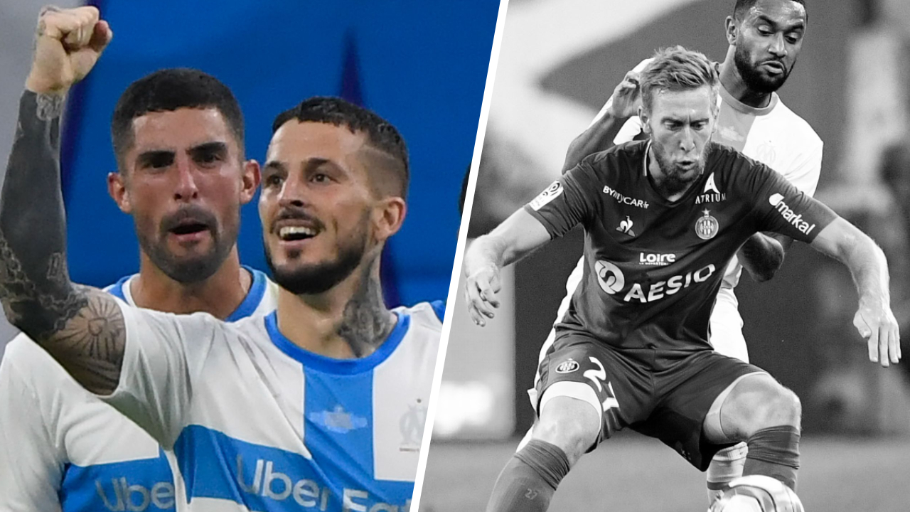 Football - Ligue 1 - Tops/Flops OM-ASSE : Benedetto brille, Beric invisible
