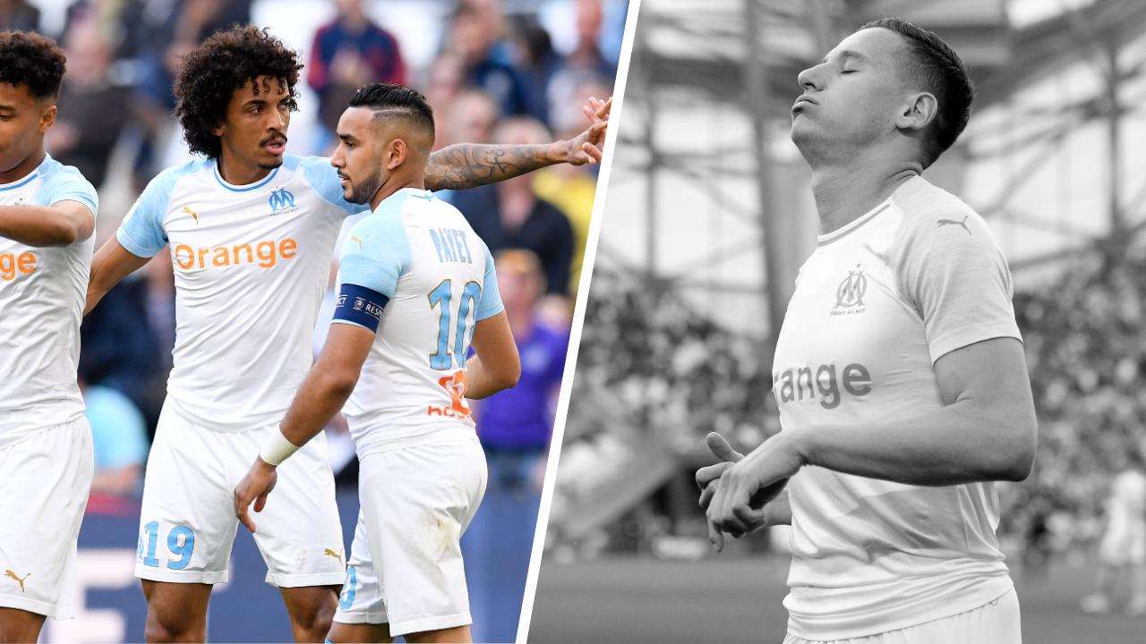 Football - Ligue 1 - Tops/Flops OM-Nîmes : Gustavo-Payet le retour des bannis, Thauvin encore insuffisant