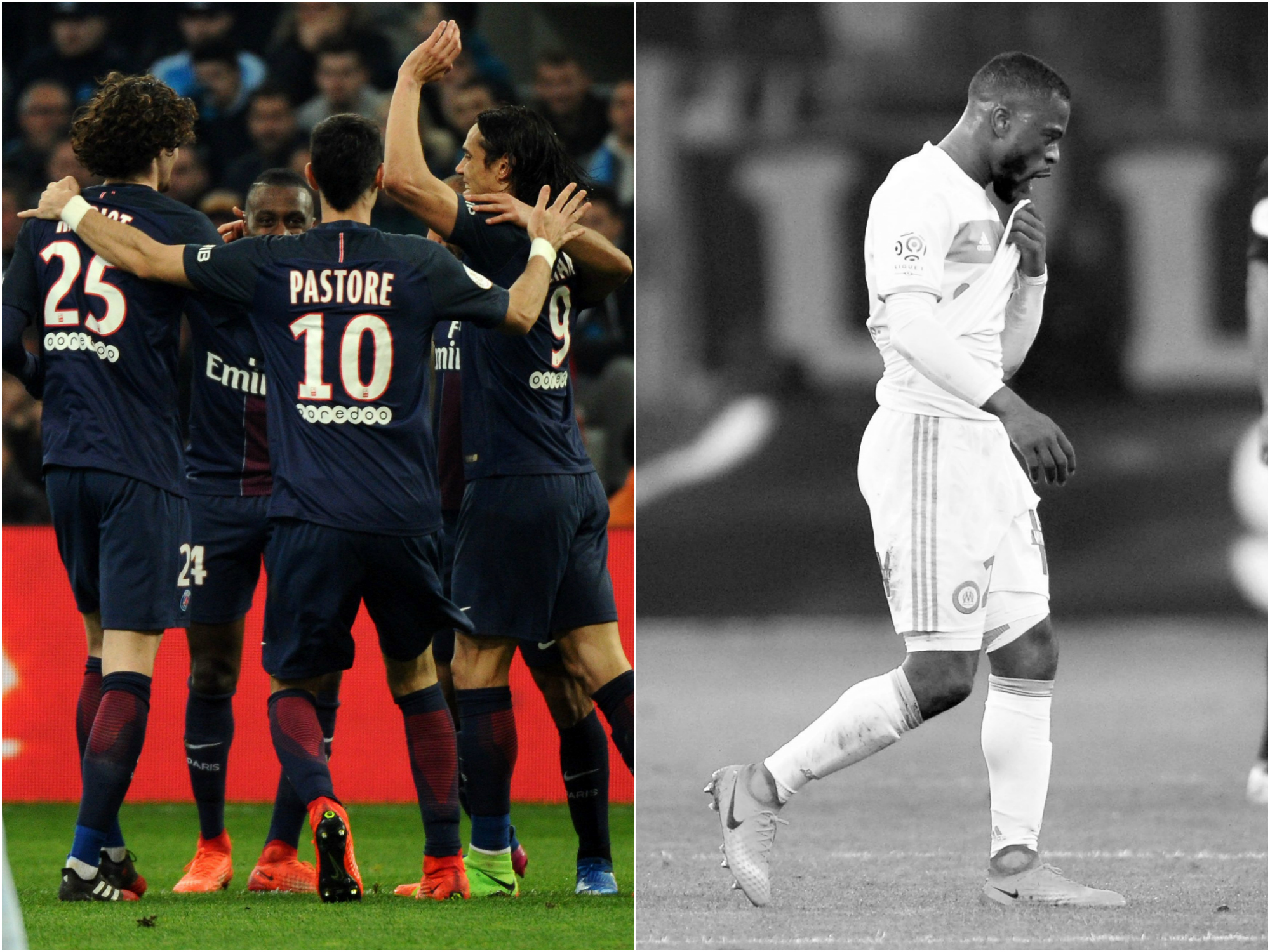 Football - Ligue 1 - Tops/Flops OM-PSG : Paris libéré, Marseille étouffé