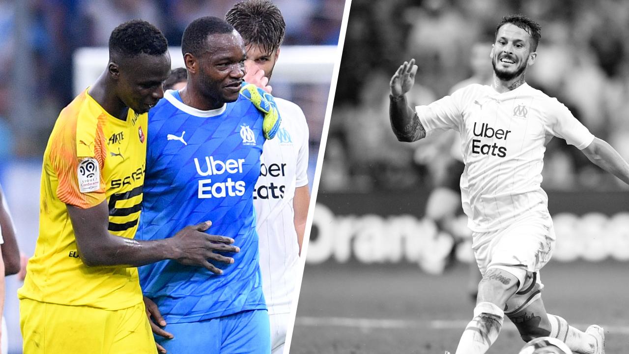 Football - Ligue 1 - Tops/Flops OM-Rennes : Les gardiens ont brillé, Benedetto a gâché