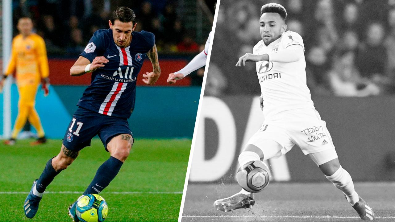 Football - Ligue 1 - Tops/flops Paris SG-Lyon : Di Maria en plein récital, le CSC improbable de Marçal