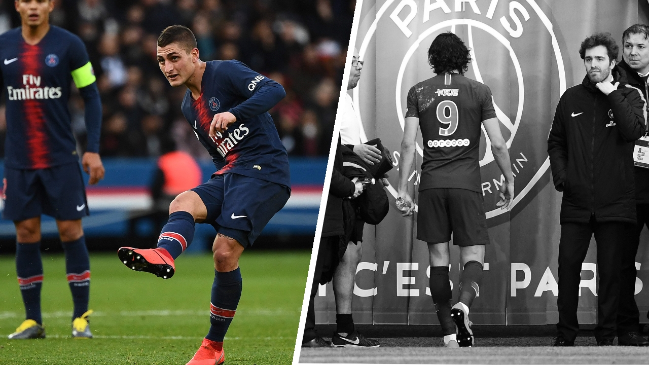 Football - Ligue 1 - Tops/flops PSG-Bordeaux : le retour rassurant de Verratti, mais un nouveau coup dur pour Paris