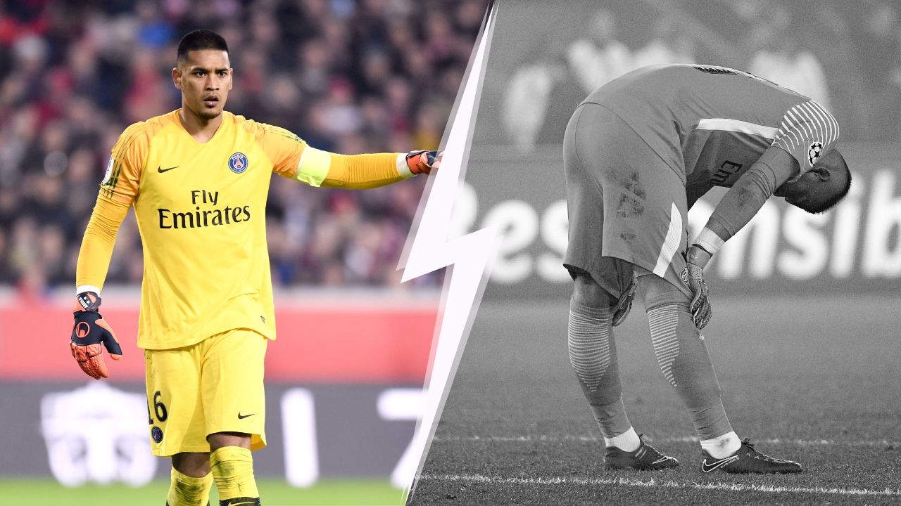 Football - Ligue 1 - Tops-flops PSG-Inter Milan : Areola a eu tout bon... puis tout faux