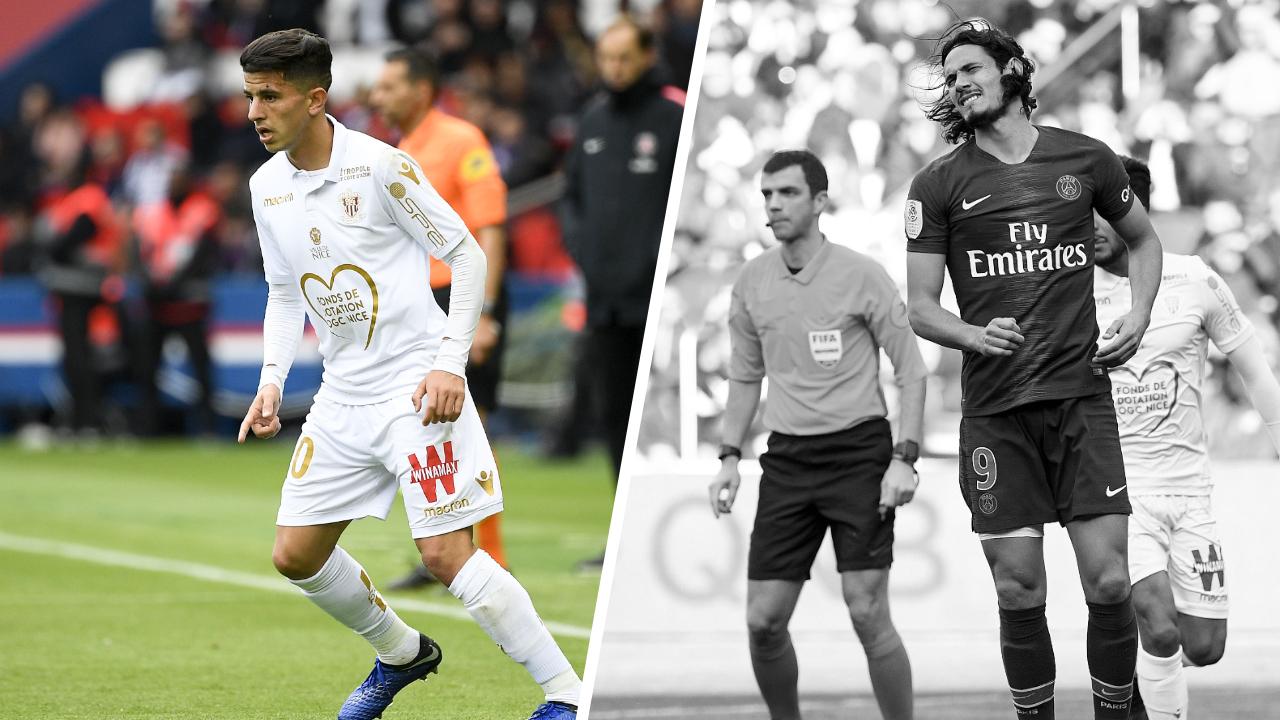 Football - Ligue 1 - Tops/Flops PSG-Nice : Atal la confirmation, Cavani retour compliqué