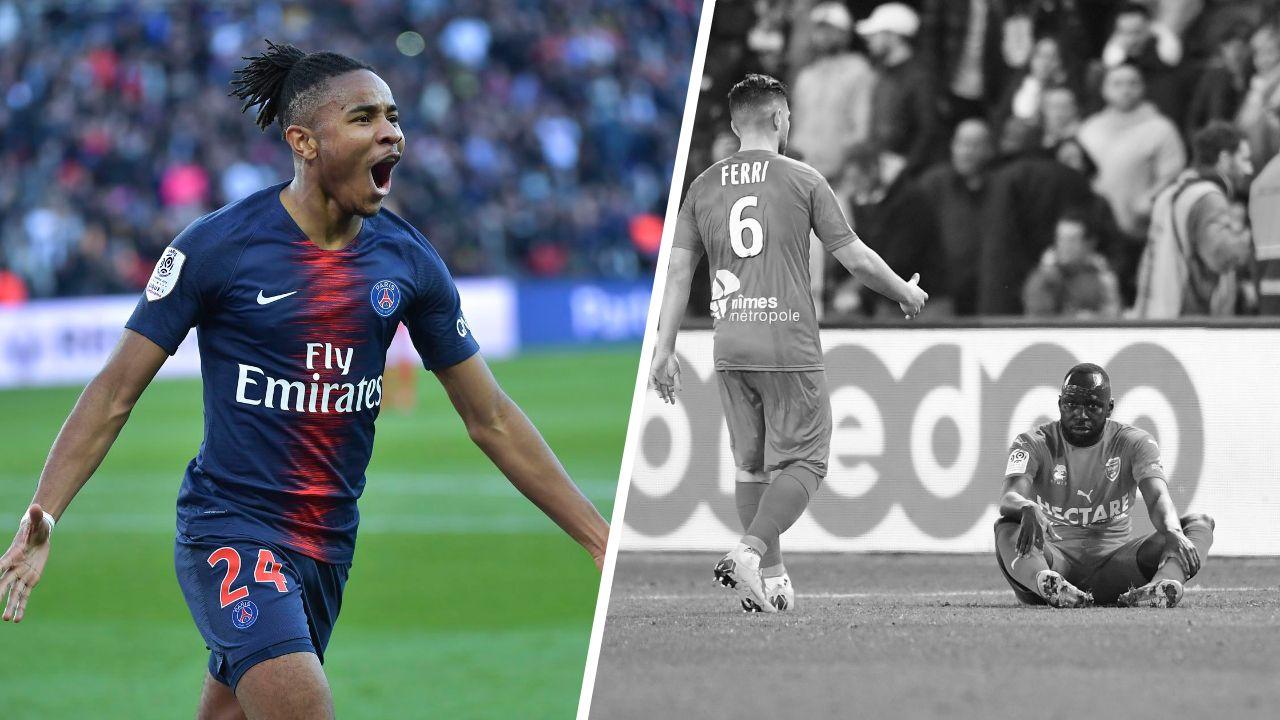 Football - Ligue 1 - Tops/Flops PSG-Nîmes : Nkunku enchaîne, La défense nîmoise aux abois