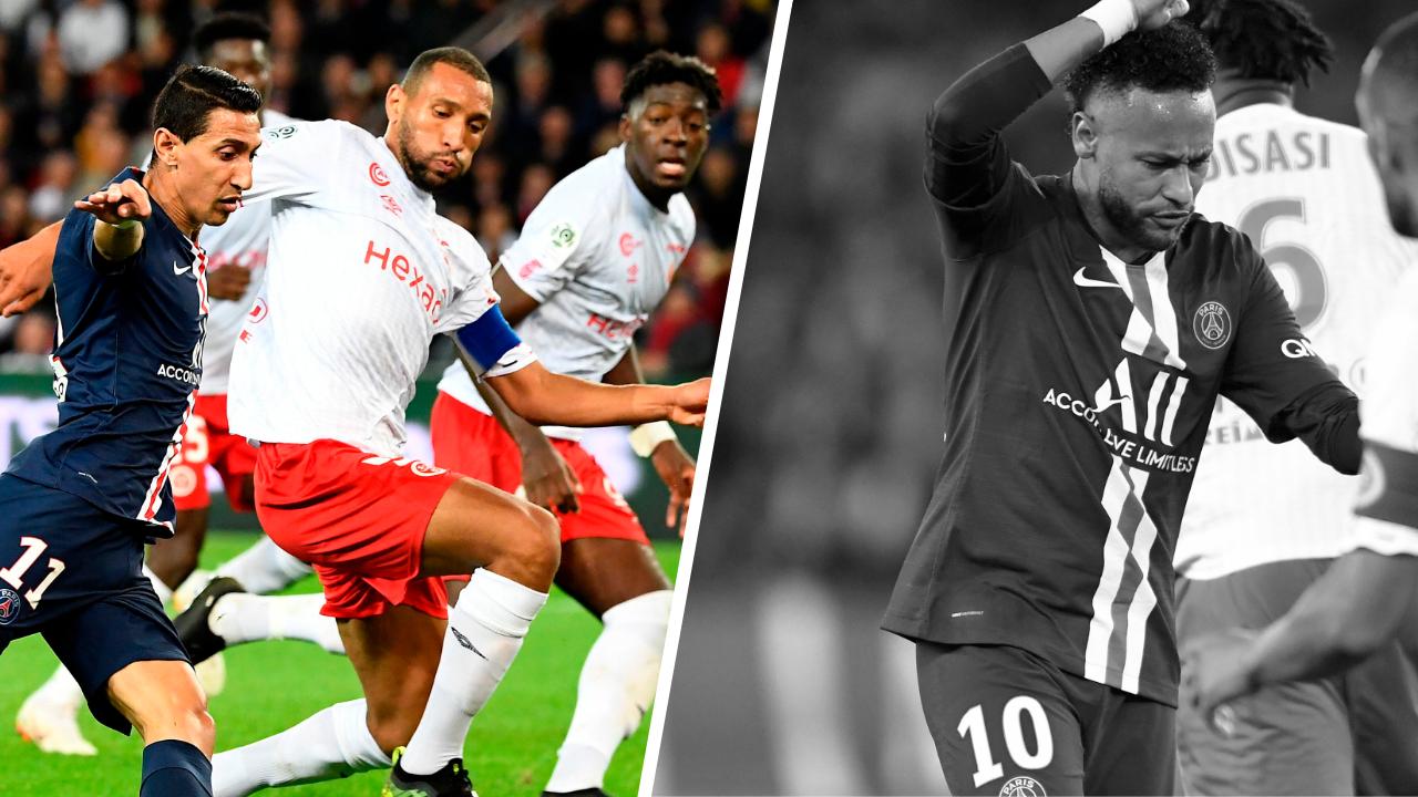 Football - Ligue 1 - Tops/Flops PSG-Reims : Abdelhamid en taulier, Paris naufragé