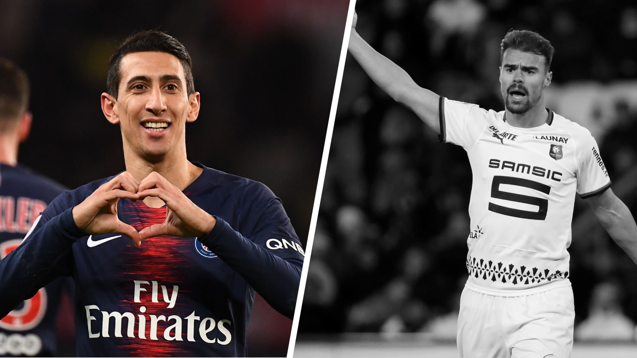 Football - Ligue 1 - Tops/Flops PSG-Rennes : Di Maria déterminant, Rennes pas assez endurant