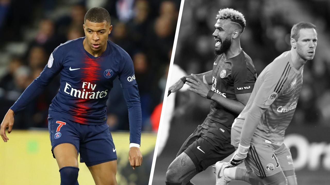 Football - Ligue 1 - Tops/Flops PSG-Strasbourg : Mbappé a réveillé Paris, Choupo-Moting encore raillé