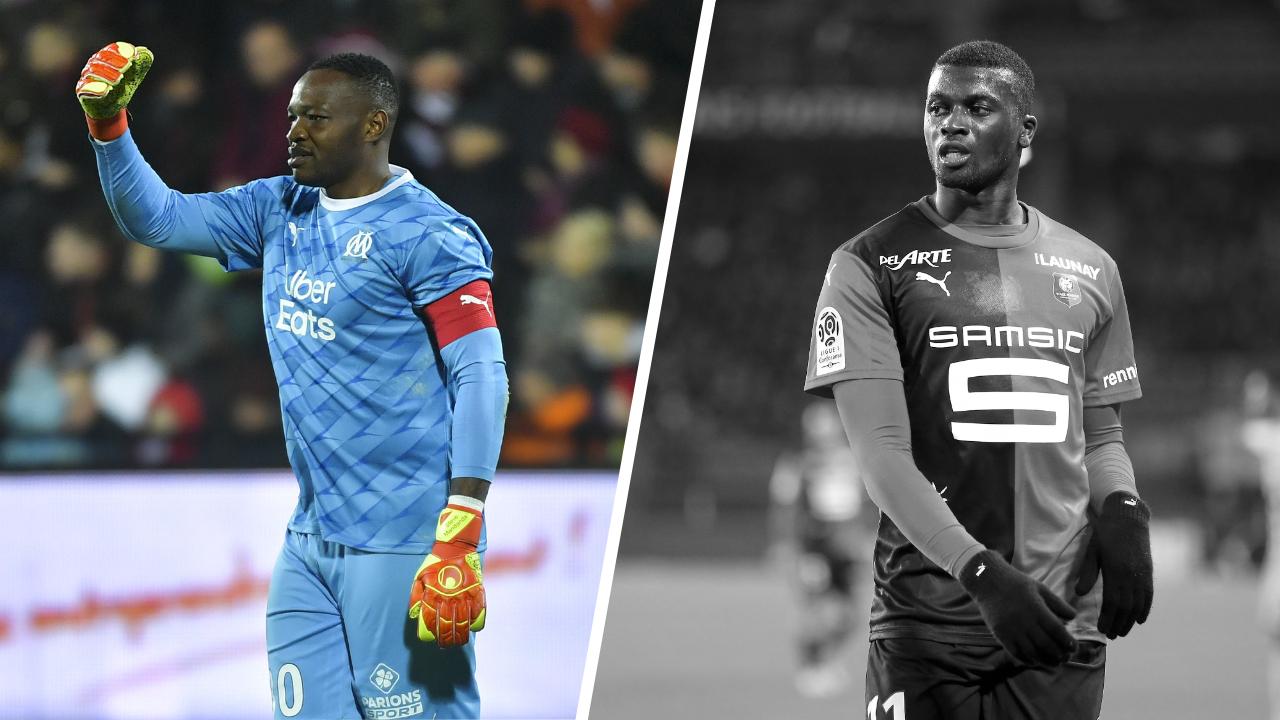 Football - Ligue 1 - Tops/Flops Rennes-Marseille : Mandanda retour gagnant, Niang aux abonnés absents
