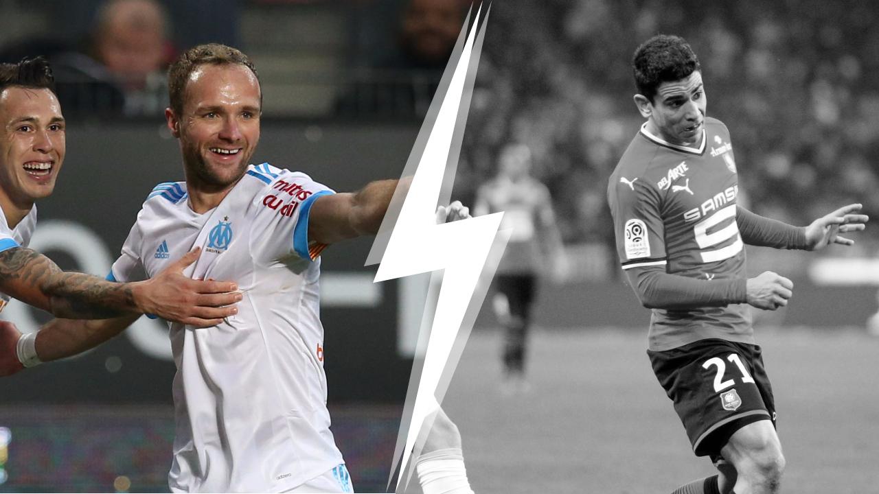 Football - Ligue 1 - Tops/Flops Rennes-OM : Germain le renouveau, Rennes la tête dans le seau