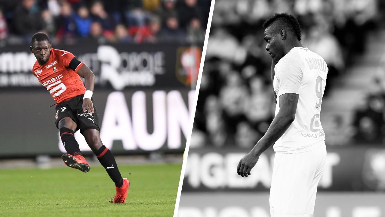 Football - Ligue 1 - Tops/Flops Rennes-OM : Traoré infatigable, Balotelli dans un mauvais jour