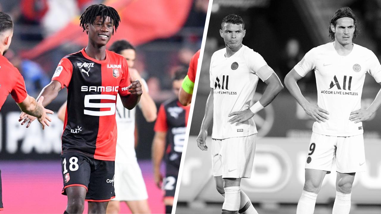 Football - Ligue 1 - Tops/Flops Rennes-PSG : Camavinga la révélation, Paris sans solution