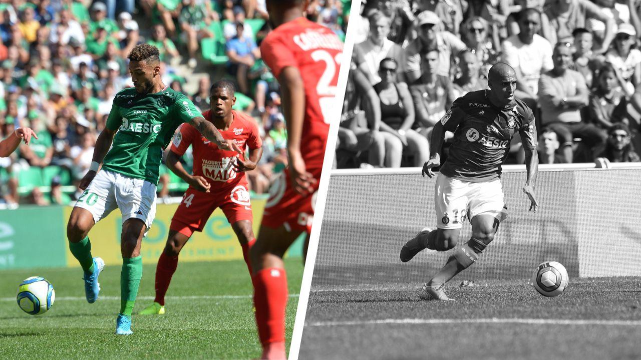 Football - Ligue 1 - Tops/flops Saint-Etienne - Brest : Bouanga sauve les Verts, Khazri dans un mauvais jour