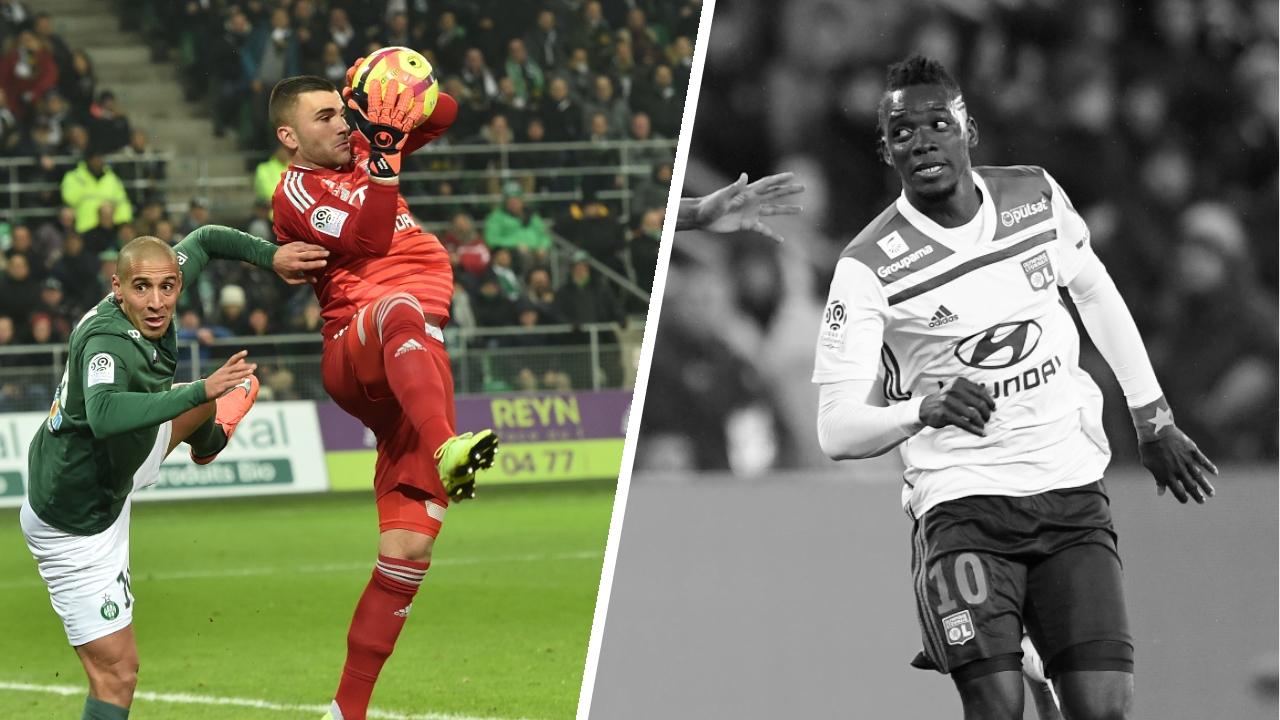Football - Ligue 1 - Tops/Flops Saint-Etienne-Lyon : Énorme Lopes, Traoré hors sujet