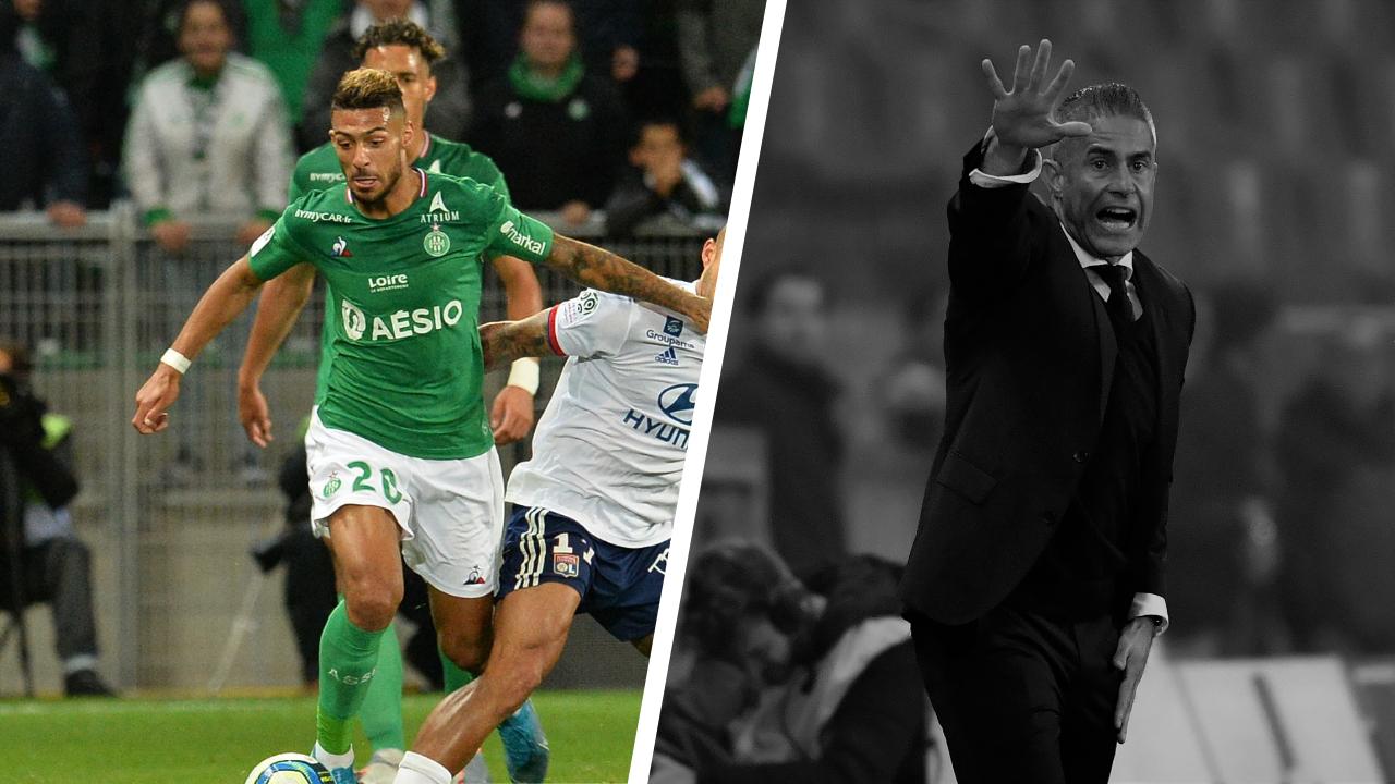 Football - Ligue 1 - Tops/flops Saint-Etienne - Lyon : l'activité de Bouanga, l'OL n'y arrive pas